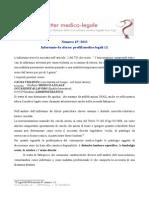 Infortunio Da Sforzo. Profili Medicolegali 2013