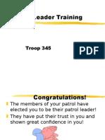 PatrolLeaderTraining.ppt