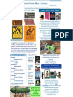 Mid-March Newsletter 2010