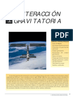 interaccion gravitatoria