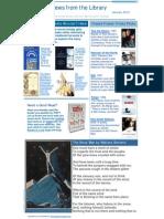 January Newsletter 2010