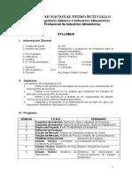 Syllabus FEP 2011