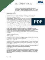 Guidelines for en 50131 Certification