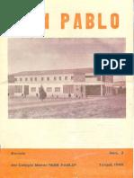 José Antonio Labordeta - Revista San Pablo 1972 Pte1