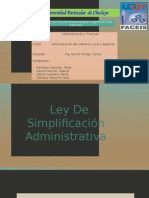 Simplificacion Administrativa Expo