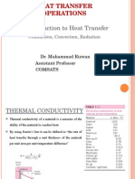 4 - 2 Introduction to Heat Transfer and Heat Conduction Eq