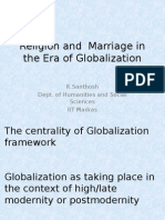 Religion and Marriage in the era of globalization