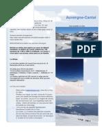 Sejour Le Clou - Super Ski a Lelioran - Adventure Randonne Neige Monts Du Cantal