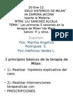 Estilo de Terapia Familiar de Mara Selvini Palazzoli de 5 a 10 Sesiones.psic. Ildefonso Valdez Leyva