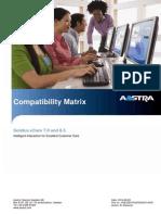 Compatibility Matrix Solidus ECare 8.3