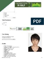 Yuki Furukawa - AsianWiki