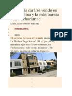 Casa Más Cara Se Vende en La Molina y La Más Barata en Pachacámac.doc_541