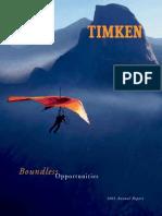 Timken Company 2003 Annual Report