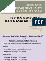Isu-Isu Seksualiti Dan Masalah Remaja