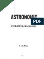 Astronomie - Culegere de Probleme