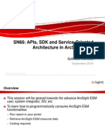 ArcSight APIs SDK Service-Oriented Architecture ESM