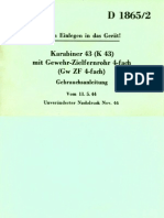 D 1865-2 Karabiner 43 (K43)