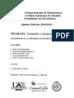 Triangulos progresiones - Teoria
