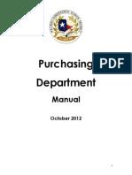 Purchasing Manual