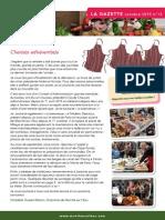 Gazette Marché sur l'Eau N°13 octobre 2015