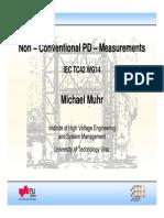 1 Muhr Non-Conventional PD-Measurements (07004-01)