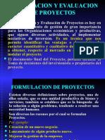 Formulacion de Proyectos. - 2015