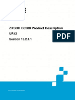 239109866 ZTE ZXSDR B8200 Product Description