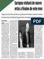 151015 La Verdad CG- La Comisión Europea Visitará de Nuevo El Paso Fronterizo a Finales de Este Mes p.7