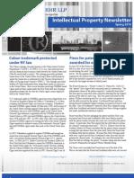 Arnstein & Lehr Intellectual Property Newsletter Spring 2010