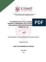 sector microfinanciero