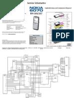 Nokia 6070 Rm-166,Rm-167 Service Schematics