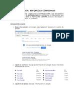 Práctica Búsqueda Avanzada Con Google