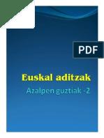 Euskal Aditzak 2c Unlocked