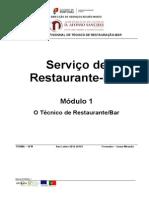O Técnico de Restaurante/Bar