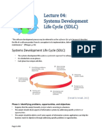 04-Systems Development Life Cycle
