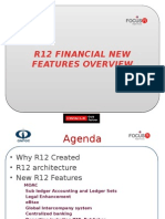 R12 Oracle Financial New Features Overview