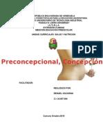 Informe II Preconcepcional