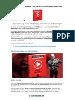 Estrela do YouTube no lançamento do livro Vídeo Marketing