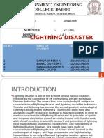 LIGHTNING DISASTER.pptx