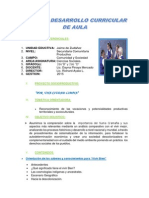 PLAN CURRICULAR DE AULA