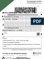 Fax Contents