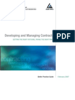 214607401 Developing and Managing Contracts