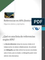 Resumen del APA 6ta con ejemplos