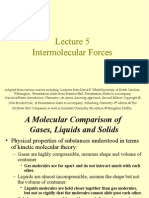 Lecture5 Intermolecular Forces