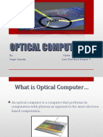 Final Ppt Optical Computers