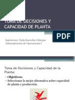 TOMA DE DECISIONES Y CAPACIDAD DE PLANTA.pptx