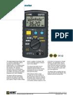 Digital Megohommeter Model 1020.pdf
