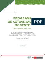 Guia Docente_comunicacion ciclo V
