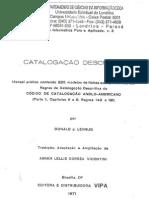 Catalogação Descritiva