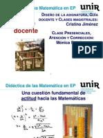 Didáctica de la matemáticas en Educación Primaria